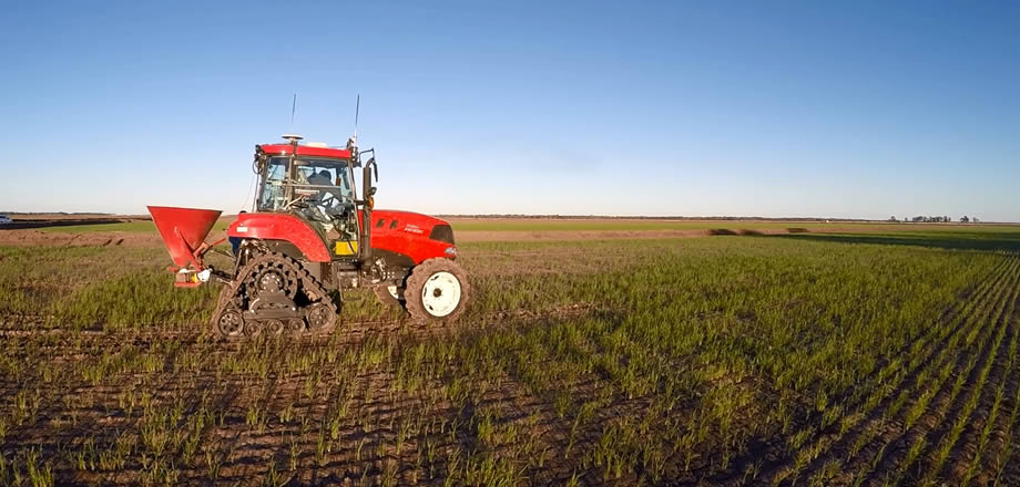 QZSS and Precision farming