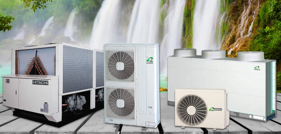 Air-Conditioning, Air and Water Cooled Chillers