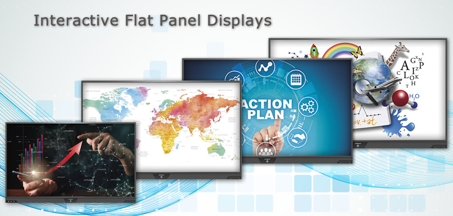 Interactive Flat Panel Displays