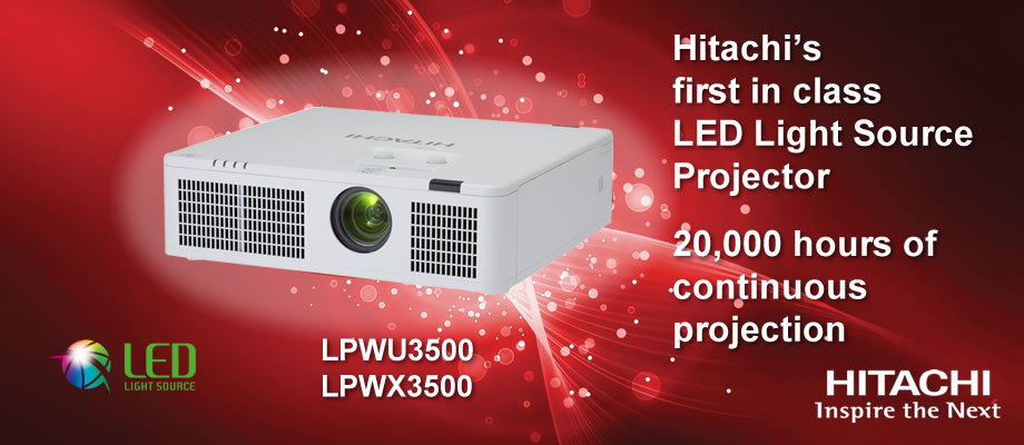 LED projectors - LPWX3500/WU3500