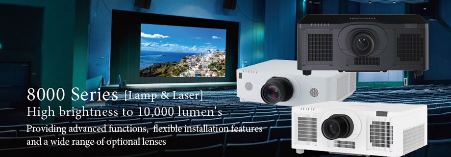 Installation Advanced Data Projectors