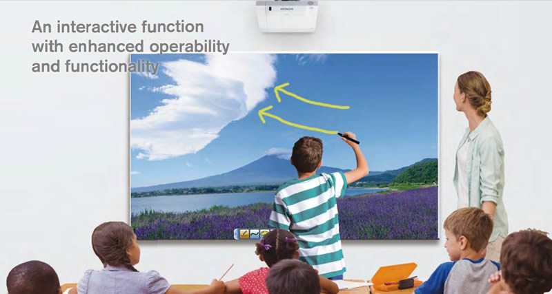 5 benefits of teaching with an Interactive Projector