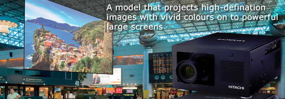 Large Venue Advanced Data Projectors