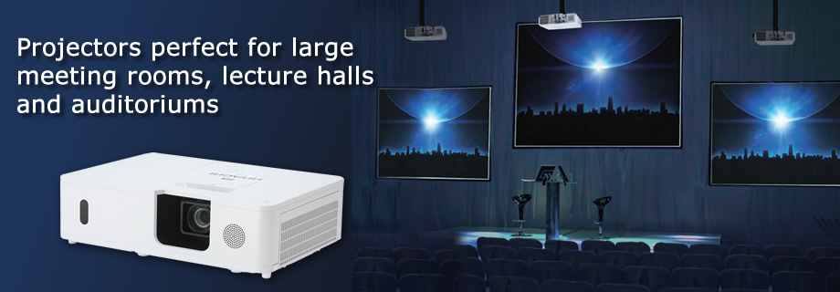 Installation LCD Data Projectors