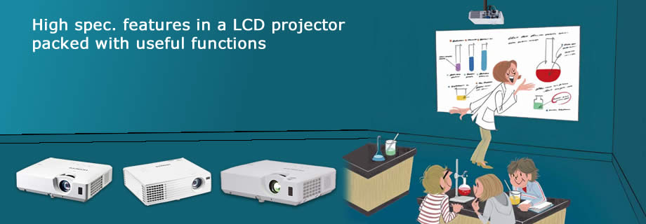 Portable LCD Data Projectors