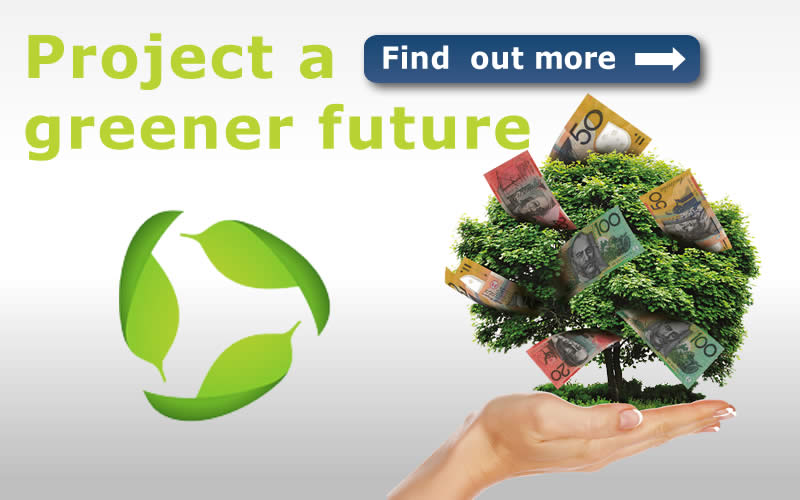 Project a greener future. Find out more.