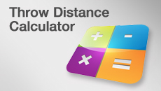 Throw Distance Calculator