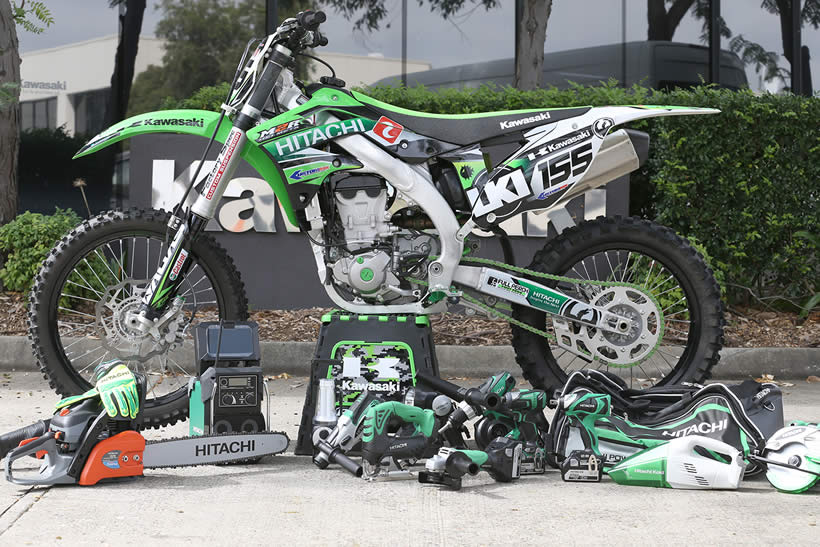 Lance Russell's Freestyle Motocross Motorcycle