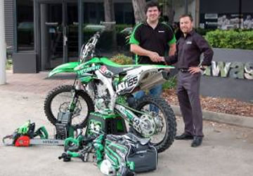 Hitachi Kawasaki Sponsorship Team 2015