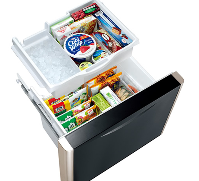 Independent Vegetable Compartment