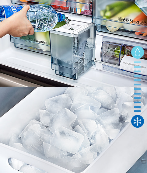 Clean Ice Automatically Made for You