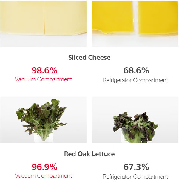 Sliced Cheese and Red Oak Lettuce Test Report