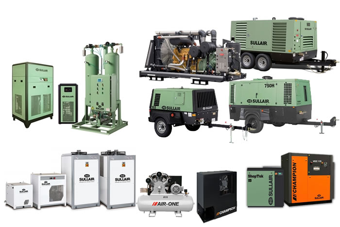 Sullair Air Compressors