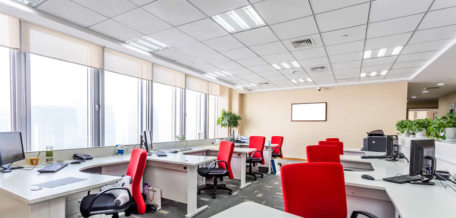 Changeable LED Unit Luminaire for office