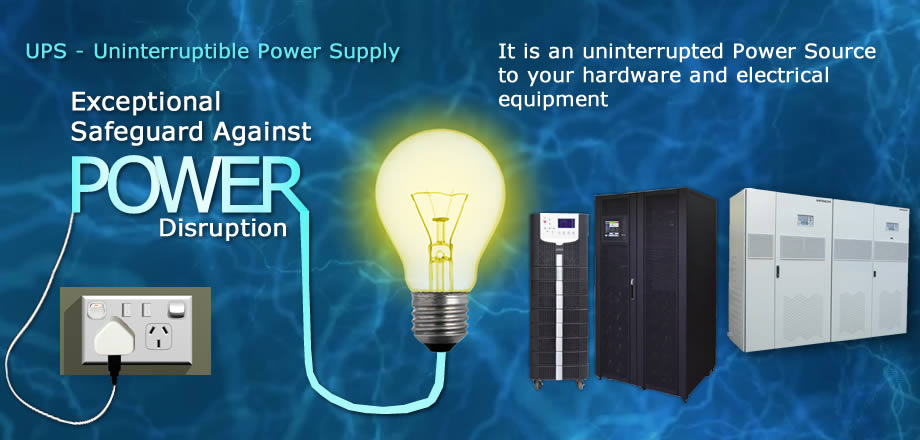 UPS, an Uninterruptible Power Supply